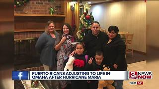Puerto Ricans adjusting to life in Omaha months after Hurricane Maria - Video