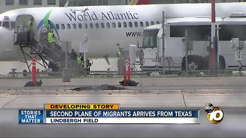 Second plane of migrtion, ants arrives in San Diego from Texas