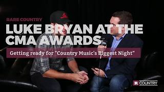 Luke Bryan at CMA Awards: Getting ready for Country Music's Biggest Night | Rare Country - Video
