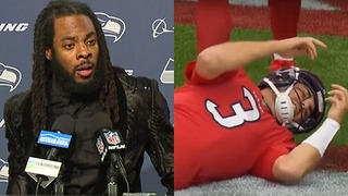 """Richard Sherman BLASTS the NFL's Concussion Protocol: """"It's an Absolute JOKE"""" - Video"""