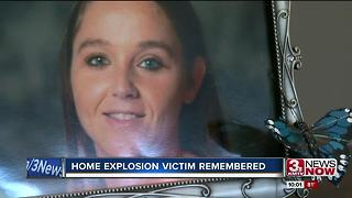 Benson home explosion victim remembered - Video