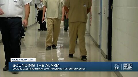 Immigration detention center in Eloy has first positive case