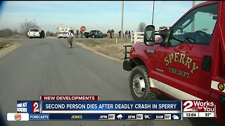 Second person dies in deadly Sperry crash
