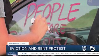 Eviction and rent protest