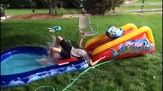 19 Spectacular Slip And Slide Fails - Video