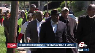 Butler-Tarkington celebrates two years without a murder - Video