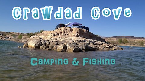 Camping & Fishing Crawdad Cove - Lake Mead, Nevada