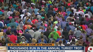 Cincinnati's 107th annual Thanksgiving Day Race has truly local flavor - Video