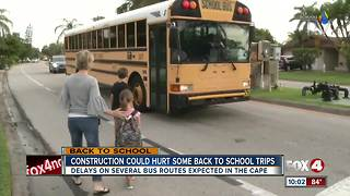 Parents notified of bus delays the day before school - Video