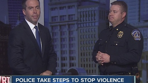 IMPD taking steps to stop violence