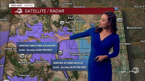 First Alert Action Day: Saturday morning weather update