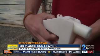 Federal judge to hear arguments about 3D guns
