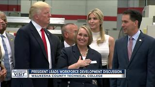 President Trump leads workforce development discussion - Video