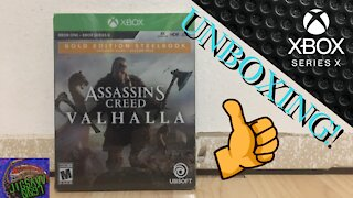 ASSASSIN'S CREED: VALHALLA Unboxing! - Xbox Series X!