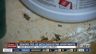 Seniors complain of unsafe conditions at downtown apartment complex - Video