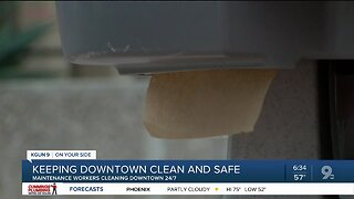 Downtown Tucson Partnership increases downtown cleaning regimen amid coronavirus pandemic