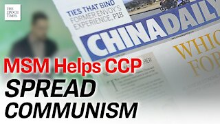 US Media Ties With CCP