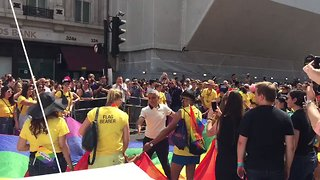 London Mayor Sadiq Khan Opens City's Pride Parade - Video