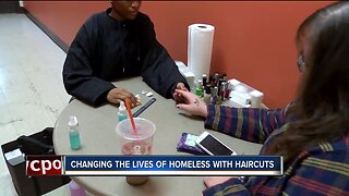Butler Tech students provide Haircuts for The Homeless