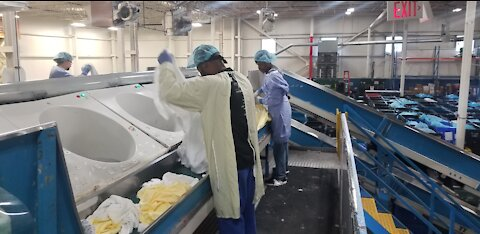 Hospital laundry service struggles to fill open positions
