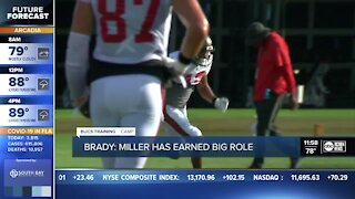 Tom Brady's trust with Scotty Miller