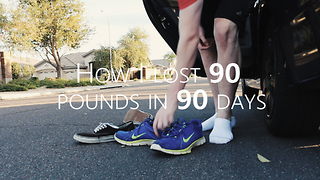 HOW I LOST 90 POUNDS IN 90 DAYS - Video