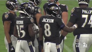 Hogan says some fans can return to the stands for Ravens, Washington games