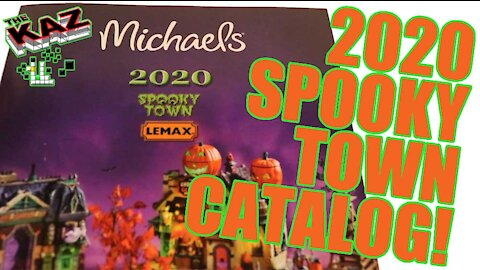 2020 Lemax Spooky Town Catalog