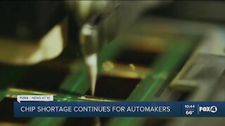 Chip shortage forcing further auto production cutbacks