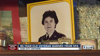 86-year-old veteran files discrimination lawsuit against HOA - Video