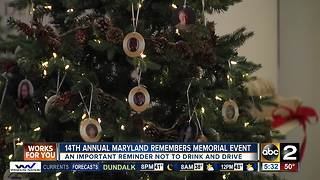 Memorial Event to remember those killed by drunk drivers - Video