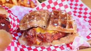 Howlin' Ray's Hot Chicken & Waffle Sandwich Is Your Next Brunch Obsession - Video