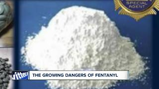 Rising dangers for first responders from fentanyl - Video