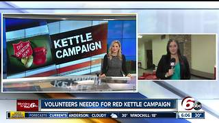 Salvation Army needs volunteers for Red Kettle Christmas Campaign - Video
