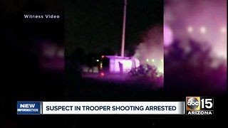 Second suspect in Trooper shooting arrested