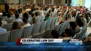 Pima County High School students celebrate Law Day at Superior Court - Video