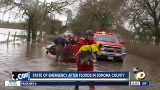 Floods waters in Sonoma County turn deadly