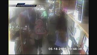 Surveillance video of pistachio farm hostage situation in New Mexico - Video