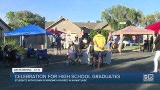 Students with Down syndrome honored in Ahwatukee