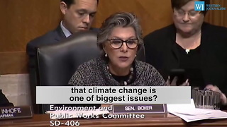Senator Barbara Boxer Attacks Priest For Questioning Climate Change
