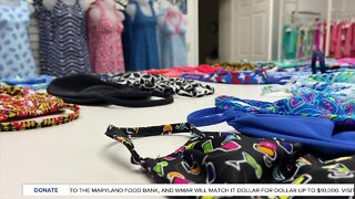 Clothing store goes from women's fashion to making masks