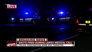 Shots fired during Largo medical call - Video