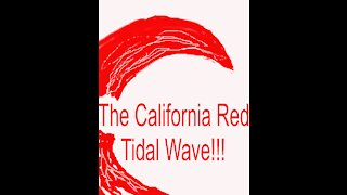 The California Red Tidal Wave is Here!