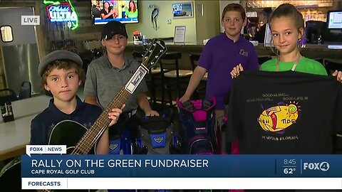 Rally on the Green tournament and auction fundraiser