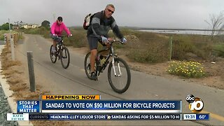 $90 million approved for bike projects