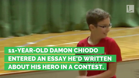 His Story About Army Big Bro Wins Contest, But Real Prize Hiding Backstage