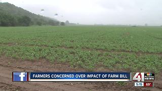 Farmers concerned about impact of farm bill - Video