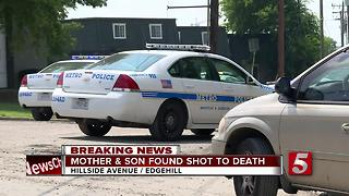 Mother, Son Killed In Edgehill Apartment Shooting - Video