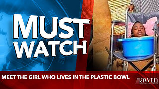 Meet The Girl Who Lives In The Plastic Bowl - Video