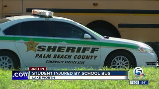 Child injured by school bus in Lake Worth